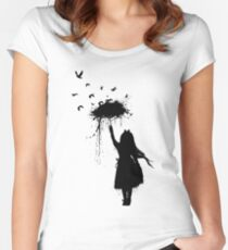 Umbrella II Women's Fitted Scoop T-Shirt