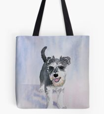 Dexter the Schnauzer Tote Bag