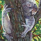 A Tree Hugger by artbyakiko