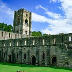 Fountains Abbey, North Yorkshire. England by hanspeder