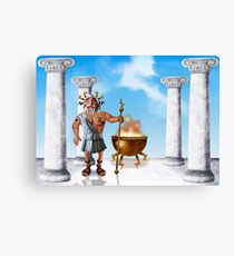 Zeus, God of Thunder Canvas Print