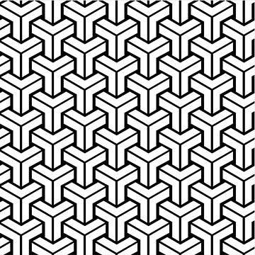 Cool Modern Pattern by Connorlikepie