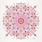 Marokkanische Mandala - Valentine Palette von Cat Coquillette
