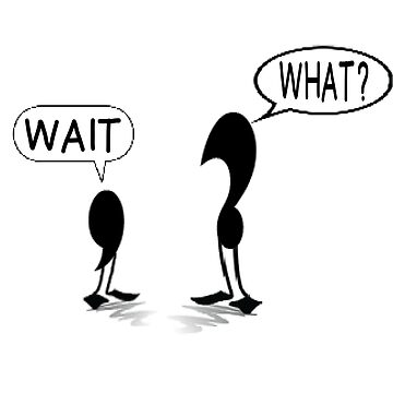 PUNCTUATION LESSON WITH COMMA & QUESTION MARK by CalliopeSt