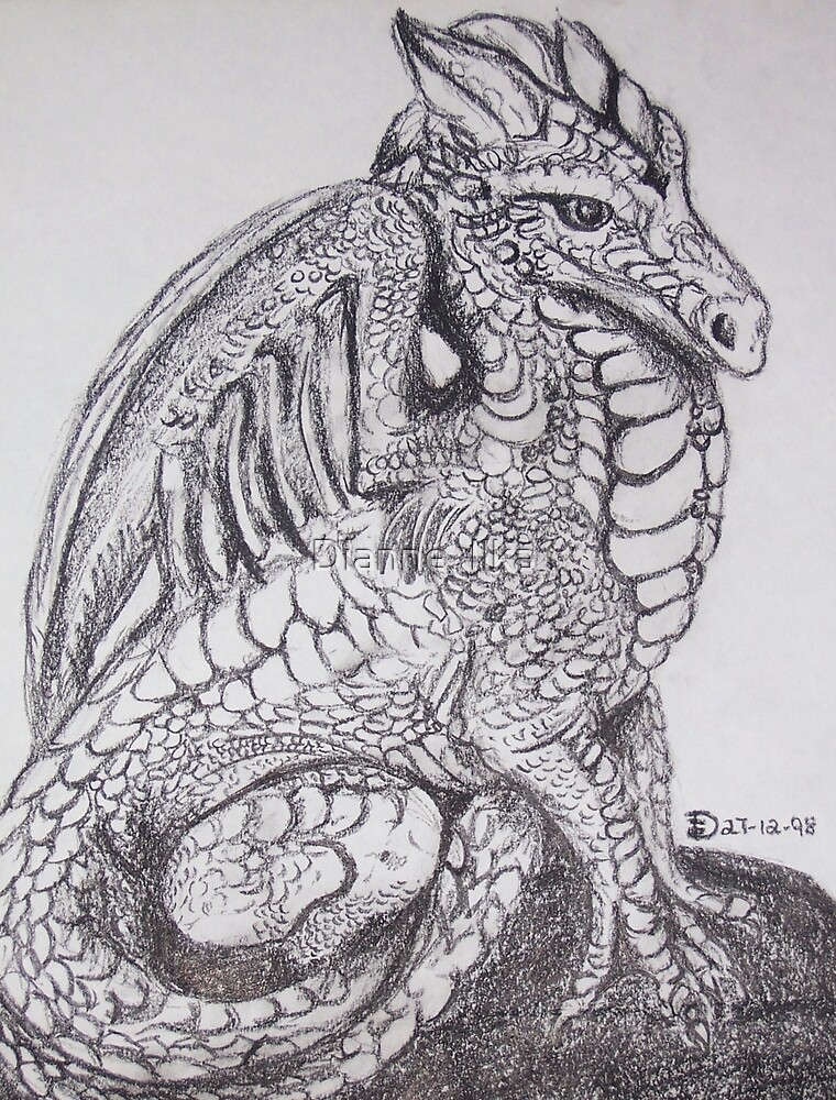 Peaceful Dragon by Dianne  Ilka
