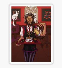 Orpheus' Cat Cafe Sticker