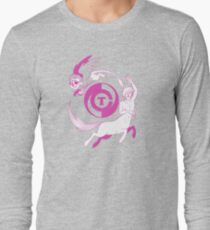 Conjectural Mythology-- Pink Long Sleeve T-Shirt