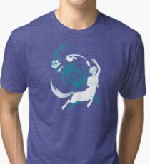 Conjectural Mythology-- Blue Tri-blend T-Shirt