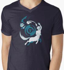 Conjectural Mythology-- Blue Mens V-Neck T-Shirt