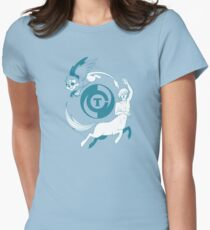 Conjectural Mythology-- Blue Women's Fitted T-Shirt