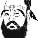 Confucius  by Clifford Sosis