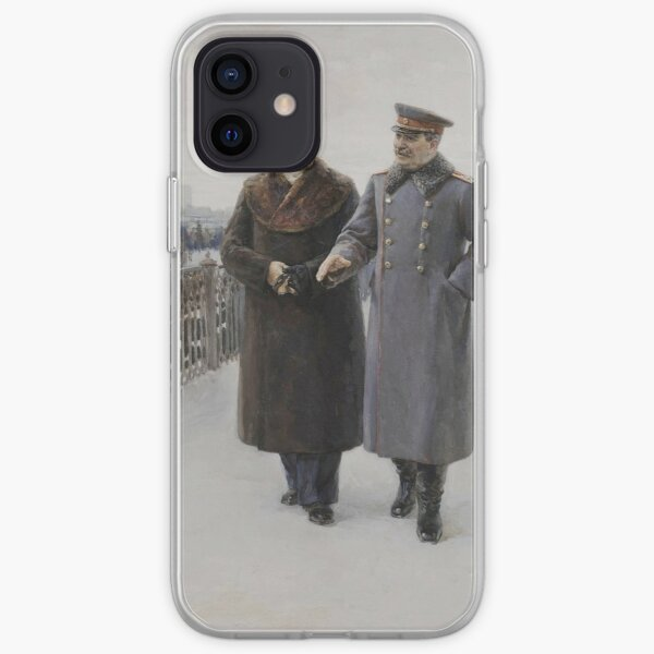 #Stalin #people, #adult, #group, #winter, #snow, #military, #males, #clothing, #men iPhone Soft Case