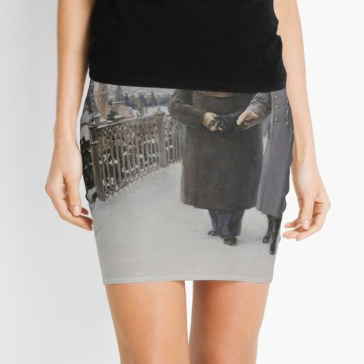#Stalin #people, #adult, #group, #winter, #snow, #military, #males, #clothing, #men Mini Skirt