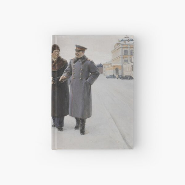 #Stalin #people, #adult, #group, #winter, #snow, #military, #males, #clothing, #men Hardcover Journal