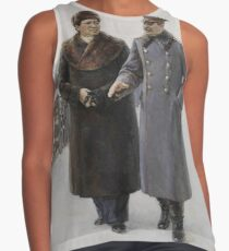 #Stalin #people, #adult, #group, #winter, #snow, #military, #males, #clothing, #men Contrast Tank