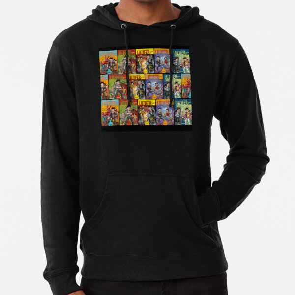Cover Mix Leichter Hoodie