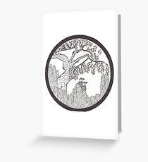 Pine and Pheasant  Greeting Card