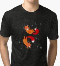 Weltraumfüchse Vintage T-Shirt