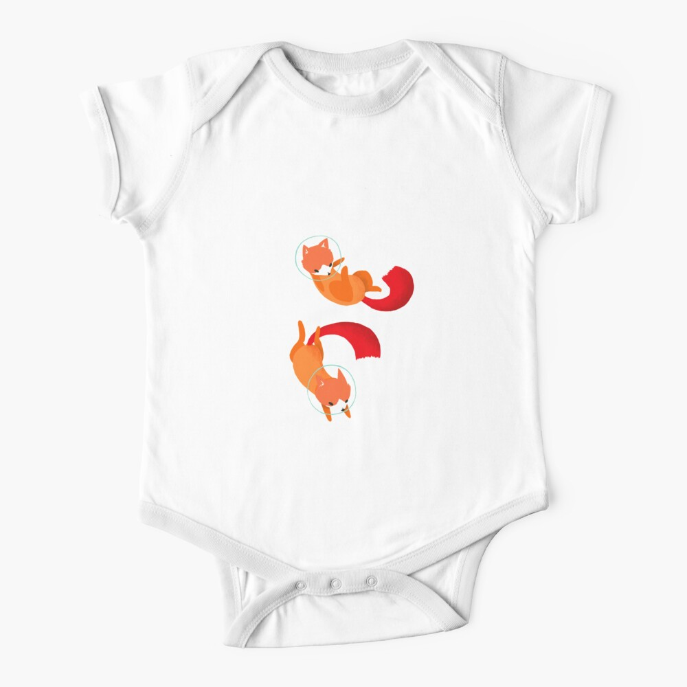 Space Foxes Baby One-Piece