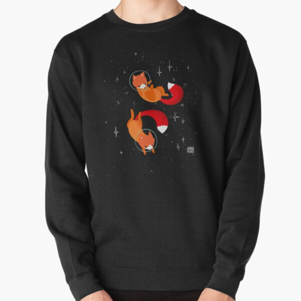Space Foxes Pullover Sweatshirt