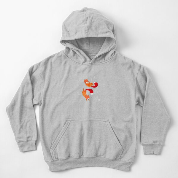 Space Foxes Kids Pullover Hoodie