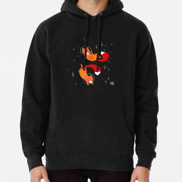 Space Foxes Pullover Hoodie