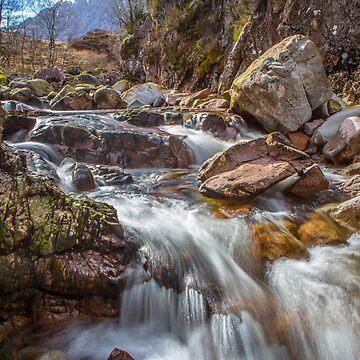 Falls at Glencoe by Femaleform