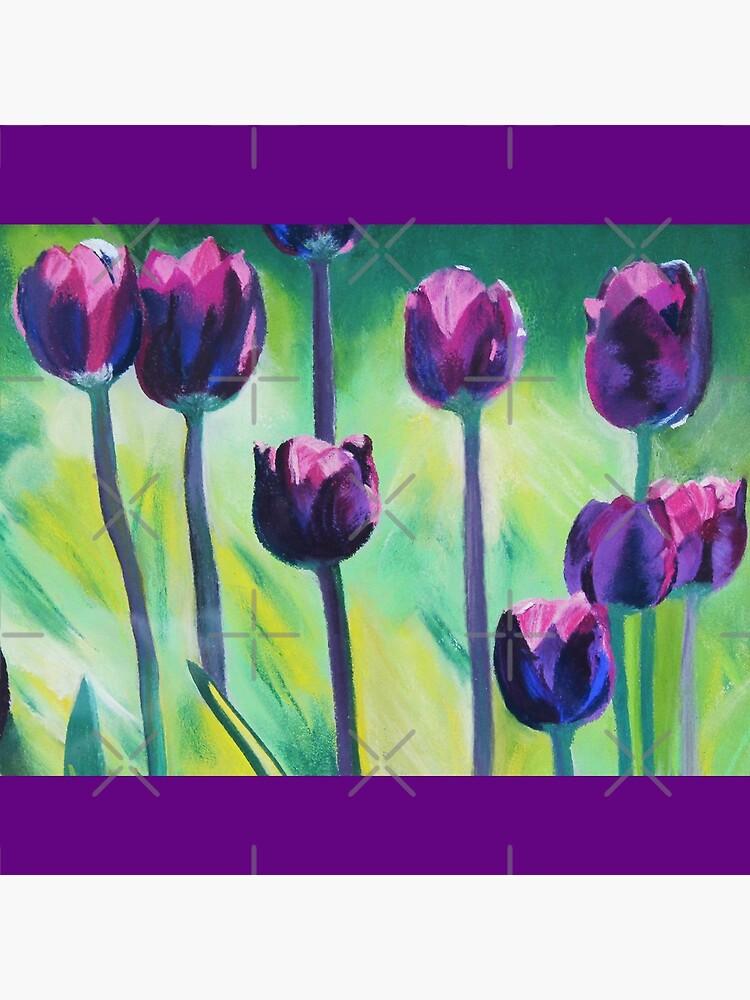 Tulips Aglow by angelagerrard