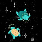 Space Turtles by Maike Vierkant