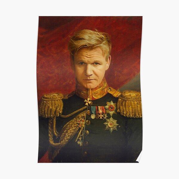 Gordon Ramsay Portrait Poster
