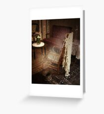 A Ghostly Experience Greeting Card