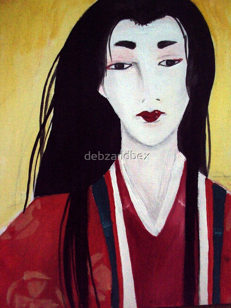 Japanese Modigliani by debzandbex