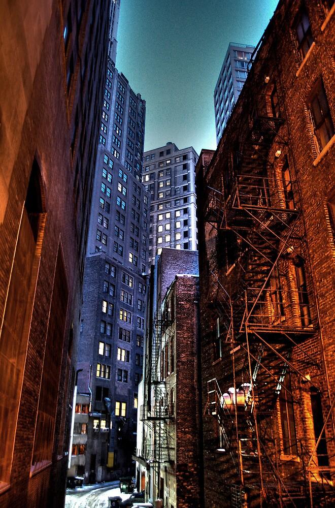Gotham Alley by ivwilsoniv
