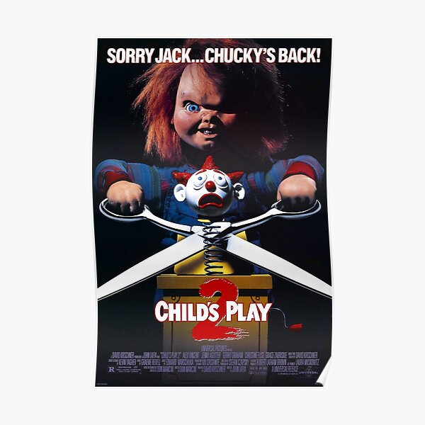 Chucky 2, Child's PLay 2 Movie Poster Poster