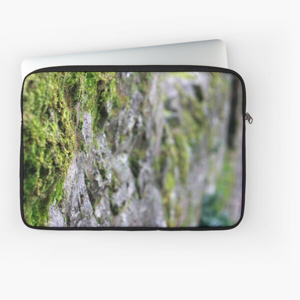 Moss Covered Wall Laptop Sleeve