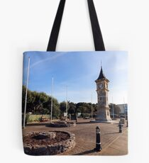 Exmouth Clock Tower Tote Bag