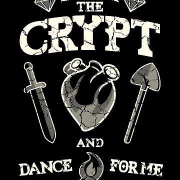 Enter the crypt. by jcmaziu
