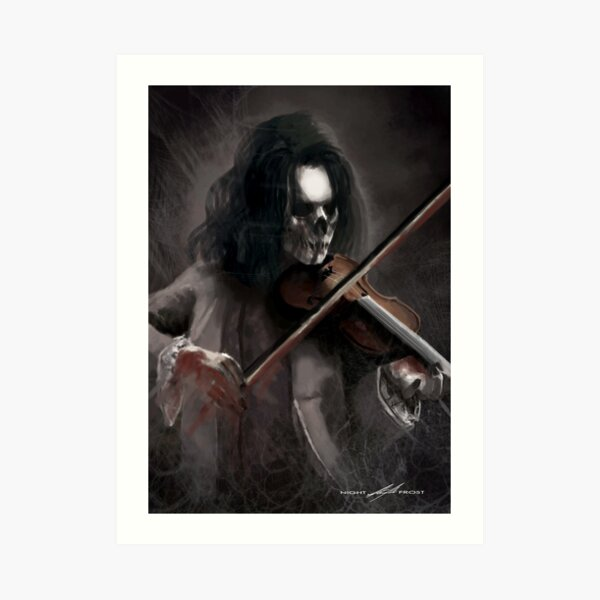 """""""The Last Musical Note"""" Art Print"""