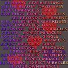 Expect MiRACLES LOVE BLESSINGS Hugs kisses dance by BodyIllumin