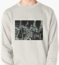 people, group, adult, military, engraving, horizontal, pattern, men, clothing, large group of people, crowd, only men, adults only Pullover