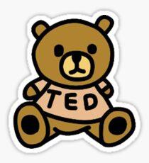 Teddy Fresh Sticker Sticker
