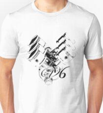 V6 engine Unisex T-Shirt