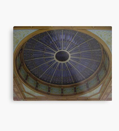 Ceiling Roundel (Waverley Railway Station, Edinburgh) Metal Print