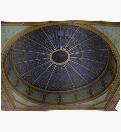 Ceiling Roundel (Waverley Railway Station, Edinburgh) Poster