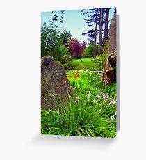 """A Spring Morning"" Greeting Card"