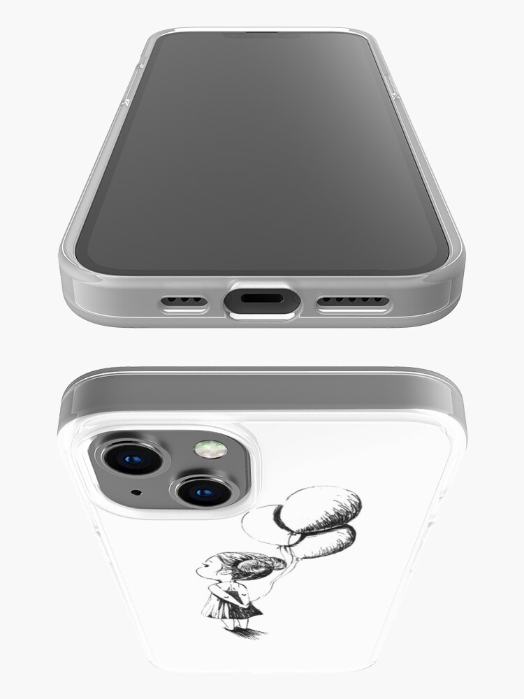 Alternate view of Little Balloon Girl iPhone Case