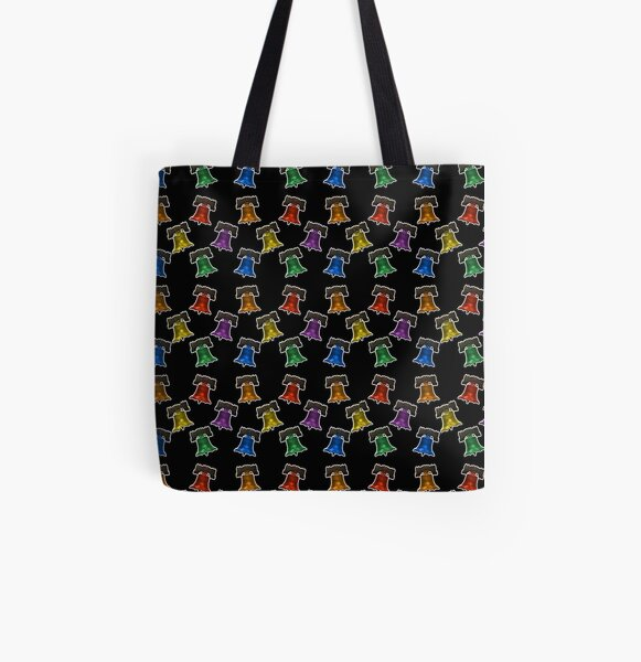 Liberty Bells - Pattern All Over Print Tote Bag