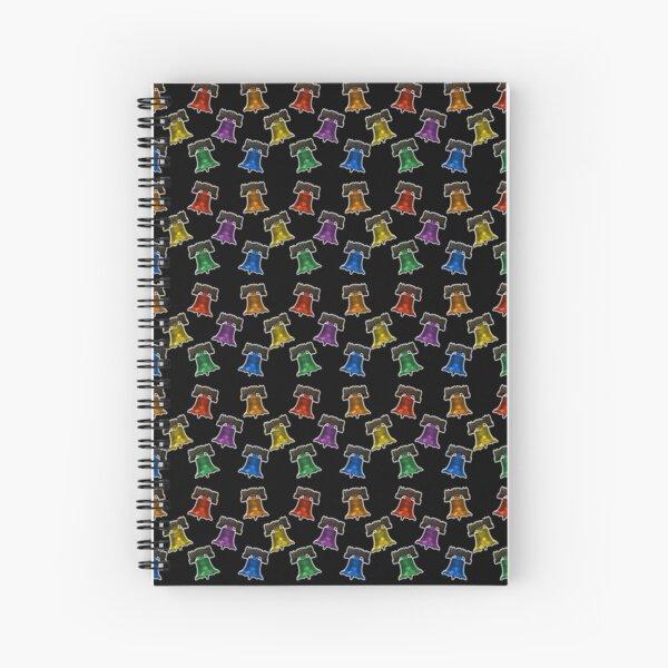 Liberty Bells - Pattern Spiral Notebook