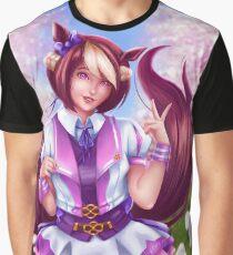 Spezieller Kemonomimi Grafik T-Shirt