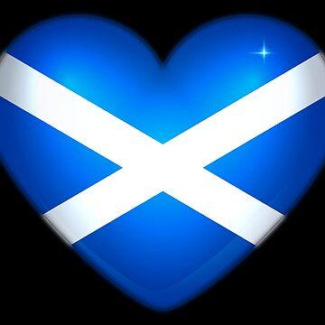 I LOVE SCOTLAND by PapaSquatch